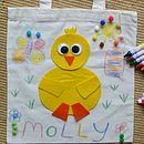 Decorate Your Own Easter Bag - Duck Or Rabbit