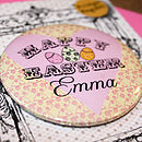 Personalised Easter Eggs Card