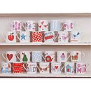 Bird And Text Mug Collection