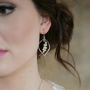 Pearl Tusk Earrings
