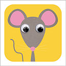 Wobbly Eyed Mouse Card