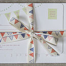 Bunting Cotton Ribbon