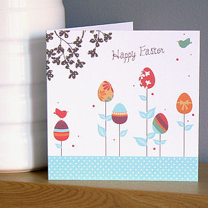 Easter Eggs Easter Card