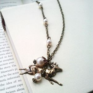Woodland Stag Necklace - necklaces & pendants
