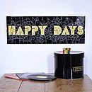 'Happy Days' Mosaic Wall Art