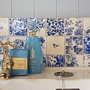 Blue Patchwork Tiles
