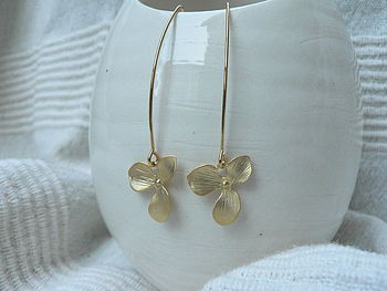 Orchid Drop Earrings