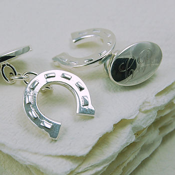 Lucky Horseshoe Cufflinks