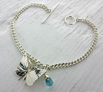Charm And Gemstone Bracelet