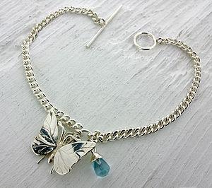 Charm And Gemstone Bracelet