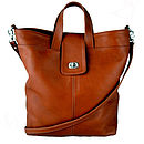 Tan Handcrafted Gainsborough Shopper
