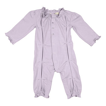 Girl's Lavender Sleepsuit