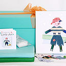Children's Little Art Canvas Party Box