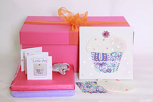 Children's Little Art Canvas Party Box - toys & games