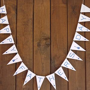 Personalised Happy Father's Day Bunting