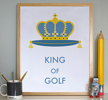 Personalised 'King Of' Print