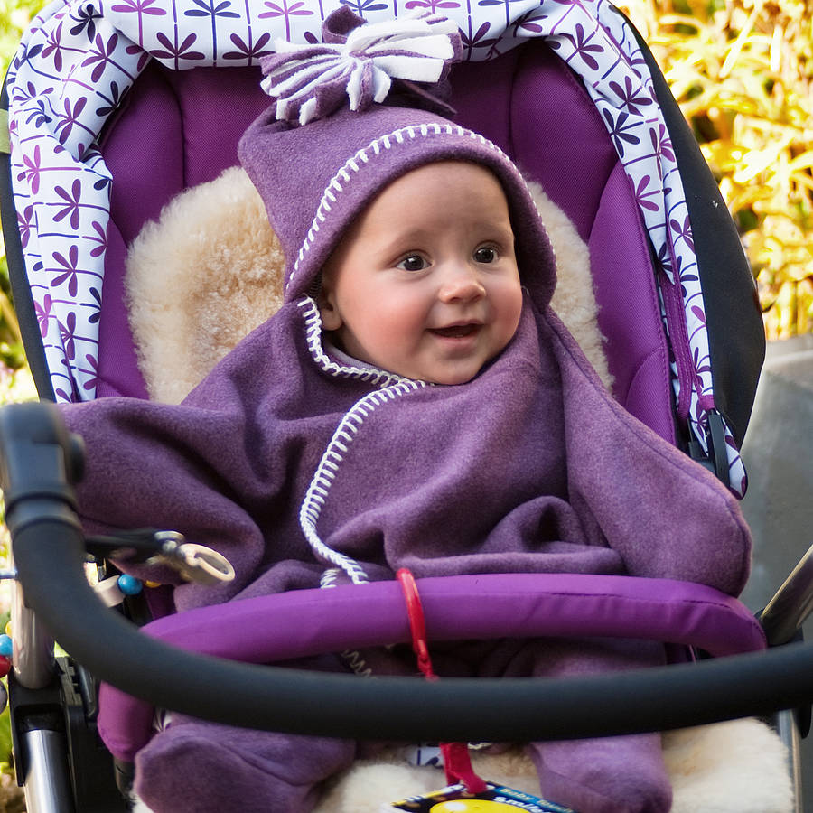 Star Fleece Baby Wrap By Tuppence And Crumble Notonthehighstreet Com