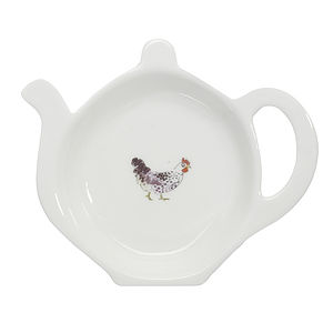 Chicken China Tea Tidy - easter homeware