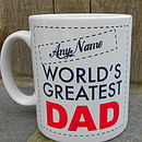 Personalised 'World's Greatest' Mug
