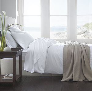 Vienna Organic Cotton Duvet Cover - bedroom
