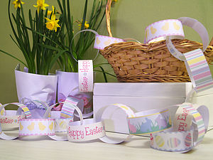 Easter Paper Chain Kit - easter home