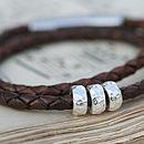Luna Silver Bead Bracelet