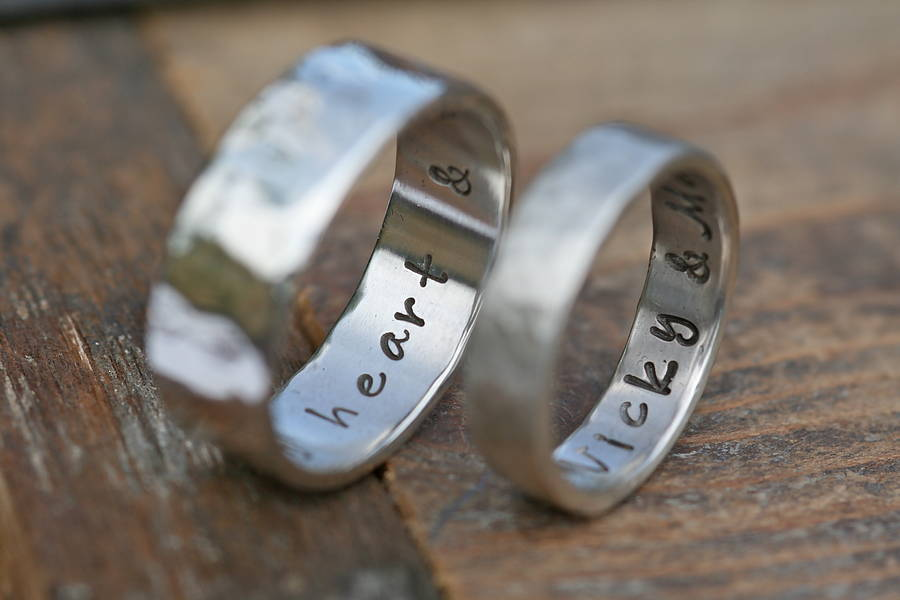 trends ring bands wedding personalized rings personalised summer