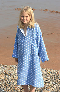 Children's Towelling Beach Robes - beach towels