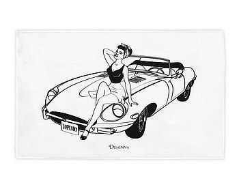 E-Type Tea Towel