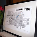 Edinburgh Word Map