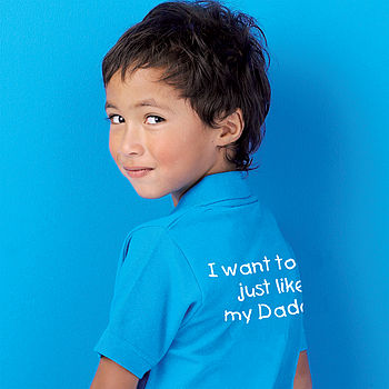 'Just Like Daddy' Polo Shirt