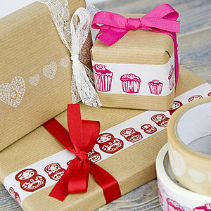 Decorative Sticky Tape - ribbon & wrap