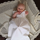 Roses Christening Gown