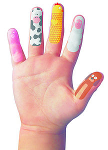 Finger Temporary Tattoos - gifts for children