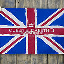Union Jack Diamond Jubilee Tea Towel
