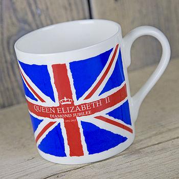 Union Jack Diamond Jubilee Mug