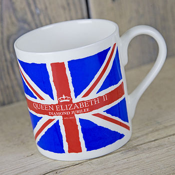 Union Jack Diamond Jubilee Mug