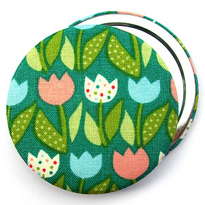 ''Tulips'' Compact Mirror - baby & child sale