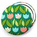 'Tulips' Pocket Mirror Stocking Filler