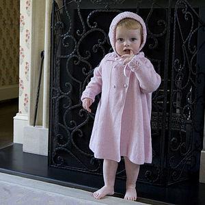 100% Cashmere Sunshine Coat - babies' coats & jackets