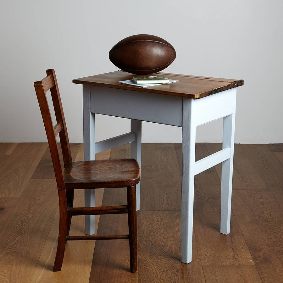 vintage school desk and chair by the original home store