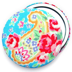 ''Paisley'' Pocket Mirror