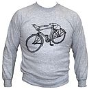 Printed Bicycle Jumper