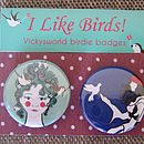 Birds Badge Pack
