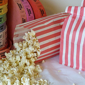Pack Of Ten Popcorn Bags