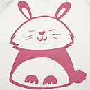 Bouncy Bunny Organic Cotton Baby T Shirt