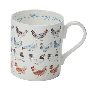 'Lay A Little Egg For Me!' China Mug