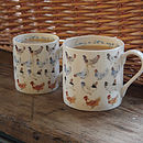 'Lay A Little Egg For Me!' China Chicken Mug