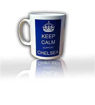 Keep calm football Mug - Chelsea