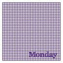 Five 'Day Of The Week' Handkerchiefs Sample Sale